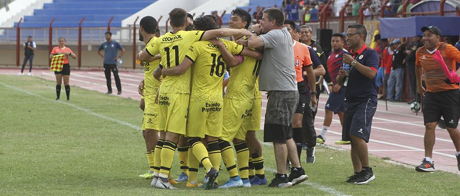 Liga 2, 1° ronda, playoffs, vuelta: Deportivo Coopsol goleó 0-4 a Santos F.C. en Nasca