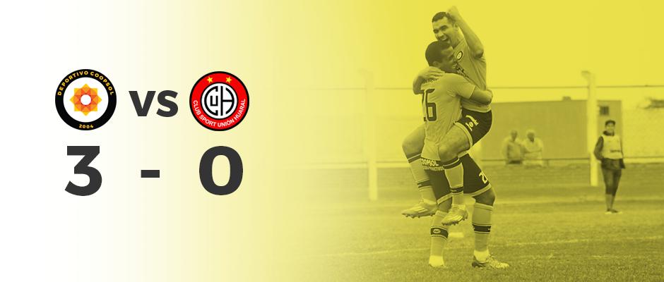 Deportivo Coopsol goleó 3-0 a Unión Huaral en partido amistoso