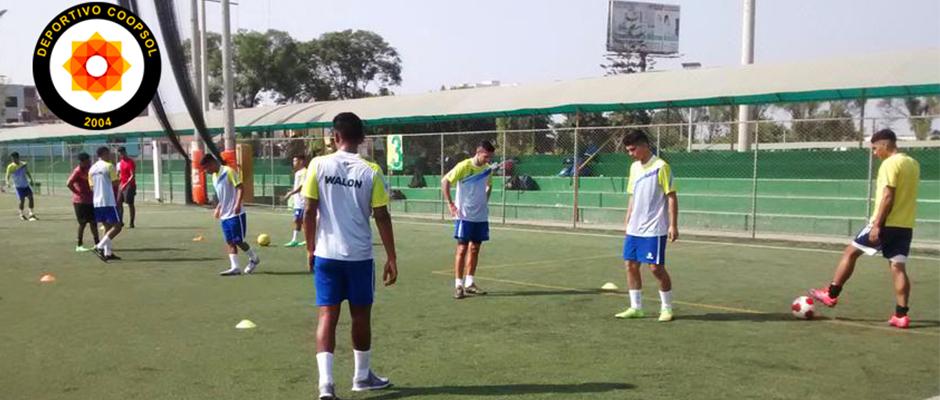 Deportivo Coopsol inició sus trabajos de pretemporada