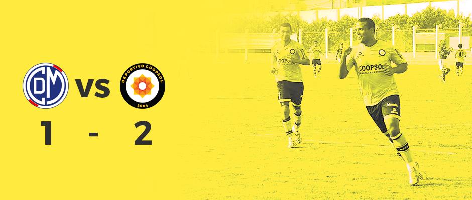 Deportivo Coopsol venció 1-2 a Municipal en Villa El Salvador